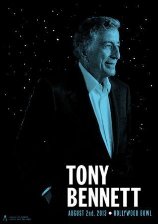 Tony Bennett by Kii Arens