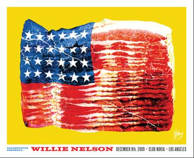 Willie Nelson by Kii Arens
