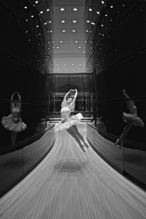A Ballerina Dancing in the New Edward P. Evans Hall at Yale University by Kike Calvo