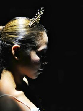 The Head and Shoulders of a Dancer from the National Ballet of Panama by Kike Calvo