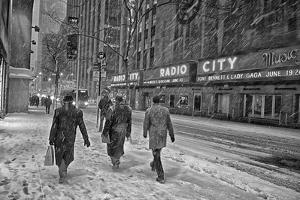 Winter Storm Juno Arrives in New York City by Kike Calvo