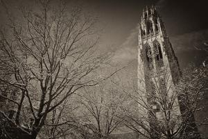 Yale University's Gothic Harkness Tower by Kike Calvo