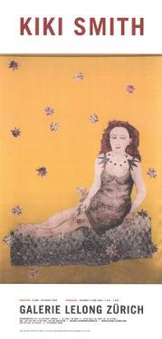 Sitting with a Snake by Kiki Smith