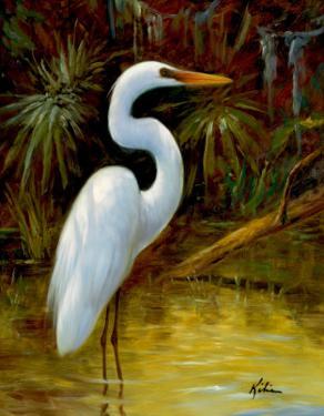 Tropical Egret I by Kilian