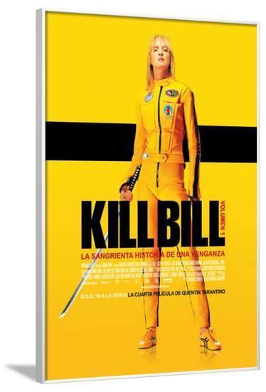 Kill Bill Vol. 1 - Spanish Style--Framed Poster