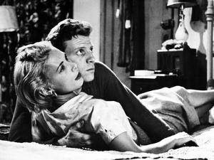 KILLER'S KISS, 1955 directed by STANLEY kUBRICK Irene Kane / Jamie Smith (b/w photo)