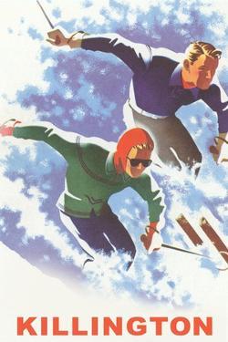 Killington Ski Poster