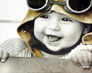 Kim Anderson (Baby Pilot) Art Poster Print