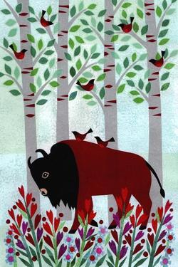 Forest Creatures VI by Kim Conway