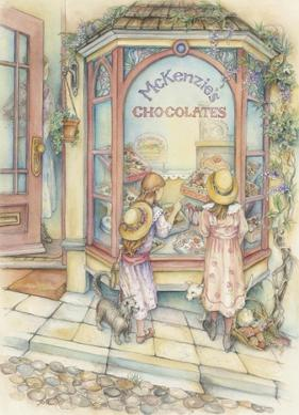 Chocolate Shop by Kim Jacobs