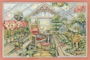 Christmas Greenhouse by Kim Jacobs