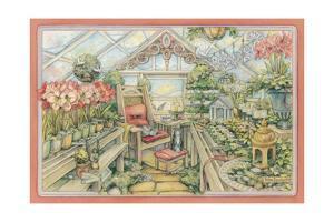 Christmas Greenhouse by Kim Jacobs