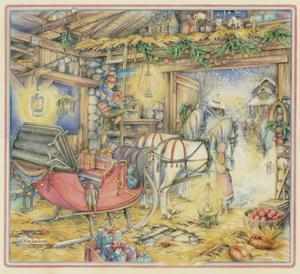 Christmas Sleigh by Kim Jacobs
