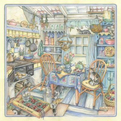 Cottage Kitchen by Kim Jacobs