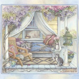 Daybed on the Porch by Kim Jacobs