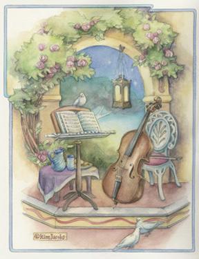 Music Garden-Cello by Kim Jacobs
