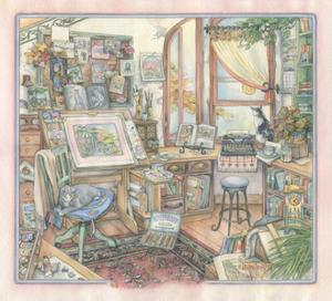 My Studio by Kim Jacobs