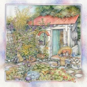 Sheltered Garden by Kim Jacobs