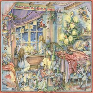 Waiting for Santa by Kim Jacobs