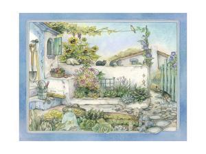 White Wall Garden by Kim Jacobs