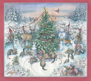Wild Friends' Christmas by Kim Jacobs