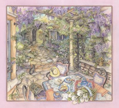 Wisteria Arbor by Kim Jacobs