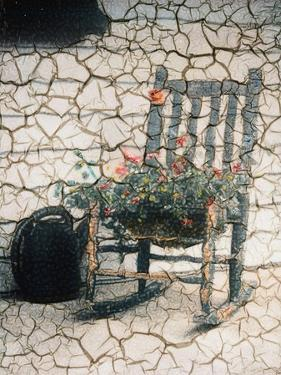 Rosemarie's Chair, Cracked by Kim Koza