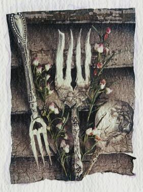 Shutter and Silverware by Kim Koza