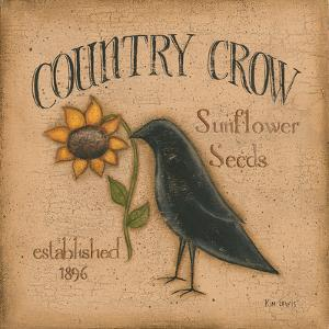 Country Crow by Kim Lewis