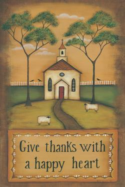 Give Thanks with a Happy Heart by Kim Lewis