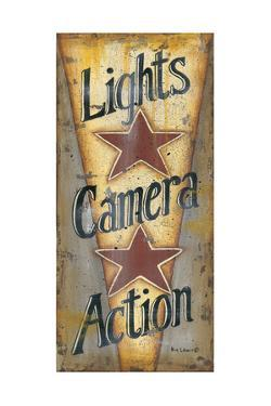 Lights, Camera, Action by Kim Lewis