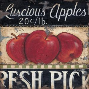 Luscious Apples by Kim Lewis