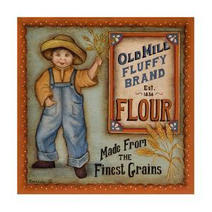 Old Mill Flour by Kim Lewis