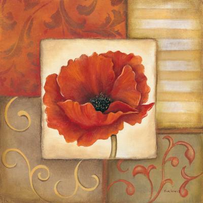 Orange Poppy I by Kim Lewis