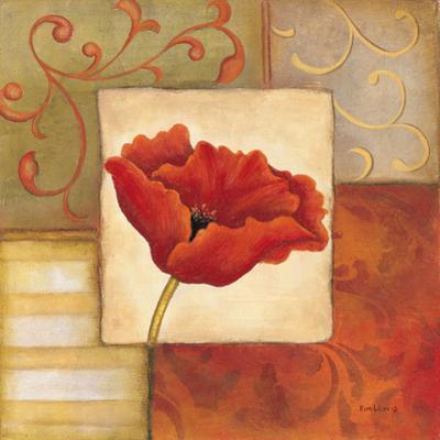 Orange Poppy II by Kim Lewis
