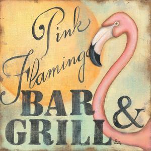 Pink Flamingo by Kim Lewis