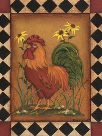 Red Rooster I by Kim Lewis