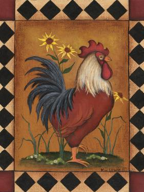Red Rooster II by Kim Lewis