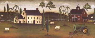 Shaker Farm by Kim Lewis