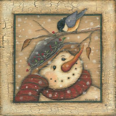 Snowman I by Kim Lewis