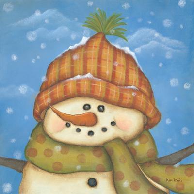 Snowman II by Kim Lewis