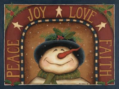 Snowman by Kim Lewis