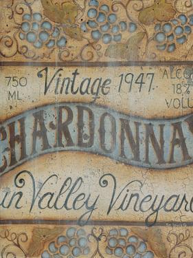 Valley Vineyard I by Kim Lewis