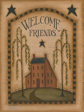 Welcome Friends by Kim Lewis