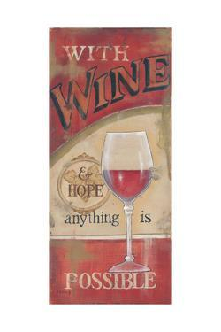 Wine and Hope by Kim Lewis