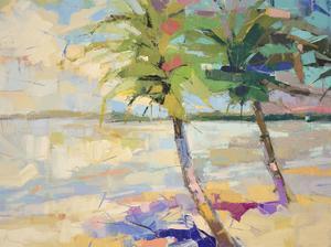 Palms II by Kim McAninch