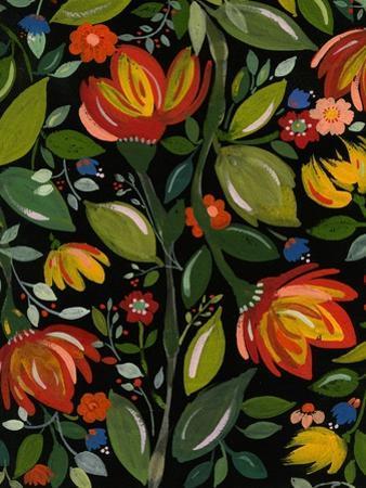 Haitian Garden Textile by Kim Parker