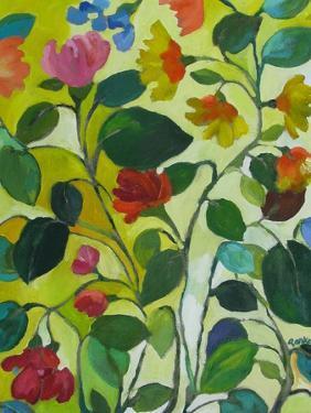 Morea Garden by Kim Parker