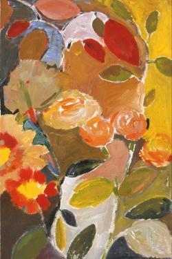 Orange Roses by Kim Parker