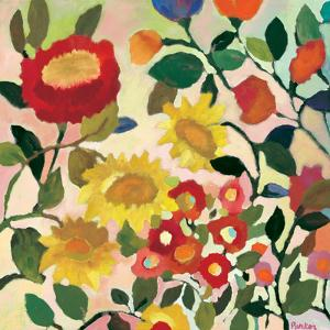Three Sunflowers by Kim Parker